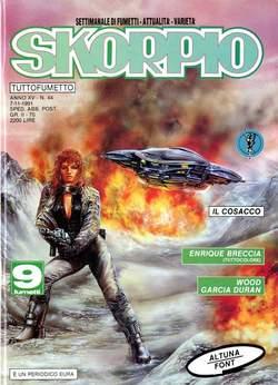 Copertina SKORPIO ANNO 15 n.44 - SKORPIO 1991            44, EDITORIALE AUREA