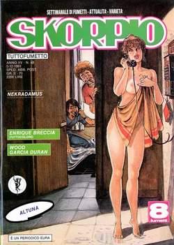 Copertina SKORPIO ANNO 15 n.48 - SKORPIO 1991            48, EDITORIALE AUREA