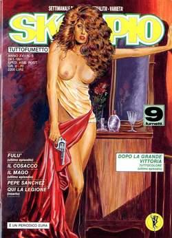 Copertina SKORPIO ANNO 15 n.3 - SKORPIO 1991             3, EDITORIALE AUREA
