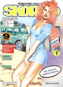 Copertina SKORPIO ANNO 15 n.4 - SKORPIO 1991             4, EDITORIALE AUREA