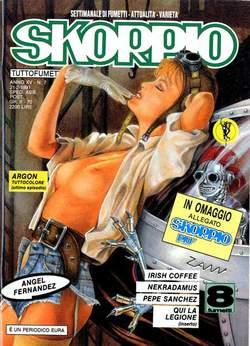 Copertina SKORPIO ANNO 15 n.7 - SKORPIO 1991             7, EDITORIALE AUREA