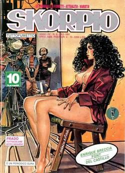 Copertina SKORPIO ANNO 15 n.8 - SKORPIO 1991             8, EDITORIALE AUREA
