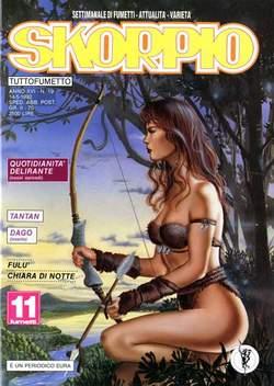 Copertina SKORPIO ANNO 16 n.19 - SKORPIO 1992            19, EDITORIALE AUREA