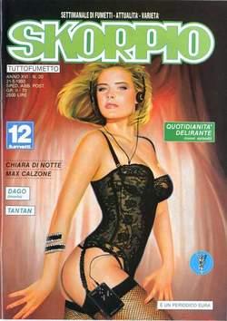 Copertina SKORPIO ANNO 16 n.20 - SKORPIO 1992            20, EDITORIALE AUREA