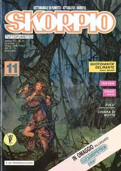 Copertina SKORPIO ANNO 16 n.21 - SKORPIO 1992            21, EDITORIALE AUREA