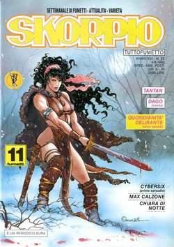 Copertina SKORPIO ANNO 16 n.22 - SKORPIO 1992            22, EDITORIALE AUREA