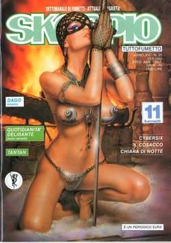Copertina SKORPIO ANNO 16 n.25 - SKORPIO 1992            25, EDITORIALE AUREA