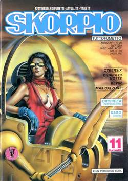 Copertina SKORPIO ANNO 16 n.30 - SKORPIO 1992            30, EDITORIALE AUREA