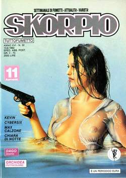 Copertina SKORPIO ANNO 16 n.32 - SKORPIO 1992            32, EDITORIALE AUREA