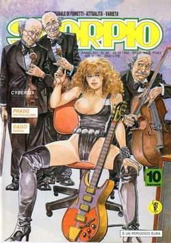 Copertina SKORPIO ANNO 16 n.42 - SKORPIO 1992            42, EDITORIALE AUREA