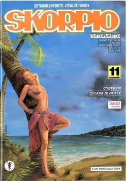 Copertina SKORPIO ANNO 16 n.48 - SKORPIO 1992            48, EDITORIALE AUREA