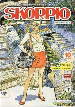 Copertina SKORPIO ANNO 16 n.49 - SKORPIO 1992            49, EDITORIALE AUREA