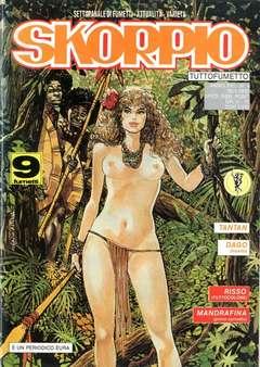 Copertina SKORPIO ANNO 16 n.4 - SKORPIO 1992             4, EDITORIALE AUREA