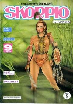 Copertina SKORPIO ANNO 16 n.5 - SKORPIO 1992             5, EDITORIALE AUREA