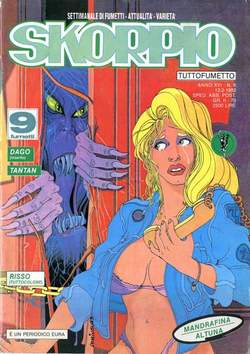Copertina SKORPIO ANNO 16 n.6 - SKORPIO 1992             6, EDITORIALE AUREA