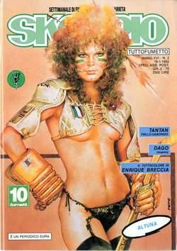 Copertina SKORPIO ANNO 16 n.2 - SKORPIO 1992             2, EDITORIALE AUREA