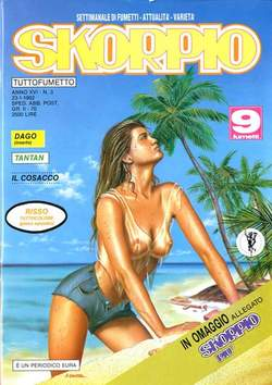 Copertina SKORPIO ANNO 16 n.3 - SKORPIO 1992             3, EDITORIALE AUREA