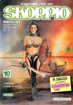 Copertina SKORPIO ANNO 17 n.10 - SKORPIO 1993            10, EDITORIALE AUREA
