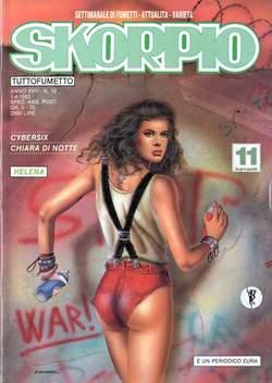 Copertina SKORPIO ANNO 17 n.12 - SKORPIO 1993            12, EDITORIALE AUREA