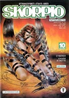 Copertina SKORPIO ANNO 17 n.15 - SKORPIO 1993            15, EDITORIALE AUREA