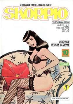 Copertina SKORPIO ANNO 17 n.17 - SKORPIO 1993            17, EDITORIALE AUREA