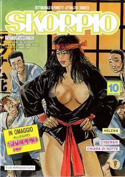 Copertina SKORPIO ANNO 17 n.18 - SKORPIO 1993            18, EDITORIALE AUREA