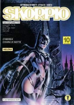 Copertina SKORPIO ANNO 17 n.19 - SKORPIO 1993            19, EDITORIALE AUREA
