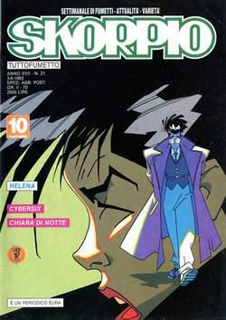 Copertina SKORPIO ANNO 17 n.21 - SKORPIO 1993            21, EDITORIALE AUREA
