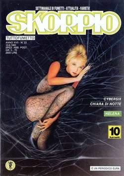 Copertina SKORPIO ANNO 17 n.22 - SKORPIO 1993            22, EDITORIALE AUREA