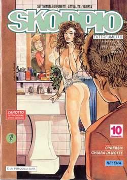 Copertina SKORPIO ANNO 17 n.23 - SKORPIO 1993            23, EDITORIALE AUREA