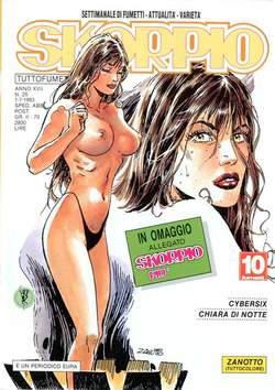 Copertina SKORPIO ANNO 17 n.25 - SKORPIO 1993            25, EDITORIALE AUREA