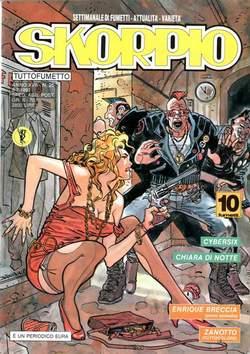 Copertina SKORPIO ANNO 17 n.26 - SKORPIO 1993            26, EDITORIALE AUREA
