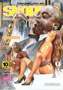 Copertina SKORPIO ANNO 17 n.28 - SKORPIO 1993            28, EDITORIALE AUREA