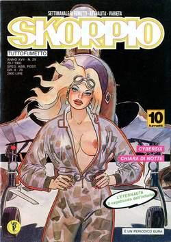 Copertina SKORPIO ANNO 17 n.29 - SKORPIO 1993            29, EDITORIALE AUREA