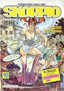 Copertina SKORPIO ANNO 17 n.31 - SKORPIO 1993            31, EDITORIALE AUREA
