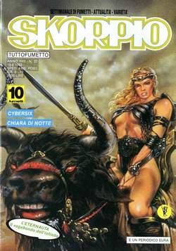Copertina SKORPIO ANNO 17 n.32 - SKORPIO 1993            32, EDITORIALE AUREA