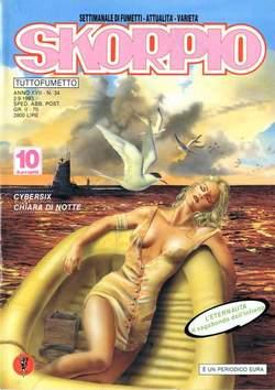Copertina SKORPIO ANNO 17 n.34 - SKORPIO 1993            34, EDITORIALE AUREA