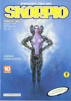 Copertina SKORPIO ANNO 17 n.35 - SKORPIO 1993            35, EDITORIALE AUREA
