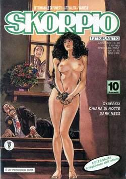 Copertina SKORPIO ANNO 17 n.39 - SKORPIO 1993            39, EDITORIALE AUREA