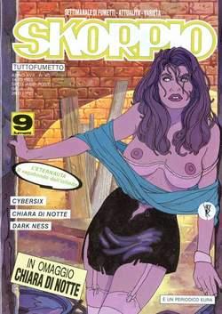 Copertina SKORPIO ANNO 17 n.40 - SKORPIO 1993            40, EDITORIALE AUREA
