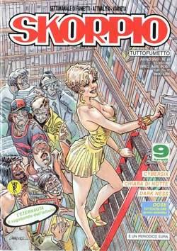 Copertina SKORPIO ANNO 17 n.41 - SKORPIO 1993            41, EDITORIALE AUREA