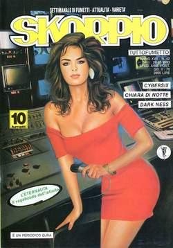 Copertina SKORPIO ANNO 17 n.42 - SKORPIO 1993            42, EDITORIALE AUREA