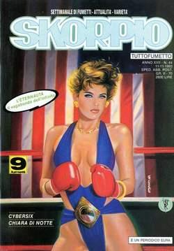 Copertina SKORPIO ANNO 17 n.44 - SKORPIO 1993            44, EDITORIALE AUREA