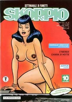 Copertina SKORPIO ANNO 17 n.50 - SKORPIO 1993            50, EDITORIALE AUREA