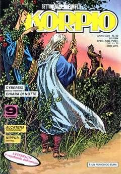 Copertina SKORPIO ANNO 17 n.52 - SKORPIO 1993            52, EDITORIALE AUREA