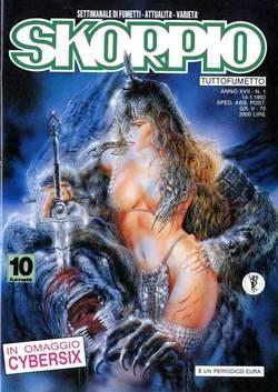 Copertina SKORPIO ANNO 17 n.1 - SKORPIO 1993             1, EDITORIALE AUREA