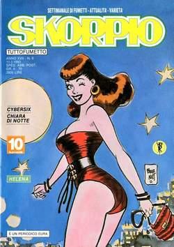 Copertina SKORPIO ANNO 17 n.9 - SKORPIO 1993             9, EDITORIALE AUREA