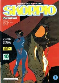 Copertina SKORPIO ANNO 17 n.2 - SKORPIO 1993             2, EDITORIALE AUREA