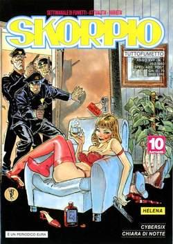 Copertina SKORPIO ANNO 17 n.7 - SKORPIO 1993             7, EDITORIALE AUREA