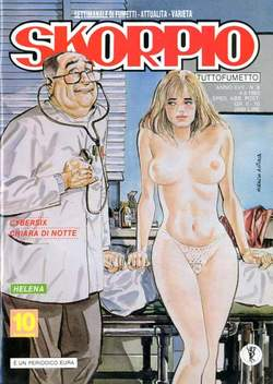Copertina SKORPIO ANNO 17 n.8 - SKORPIO 1993             8, EDITORIALE AUREA